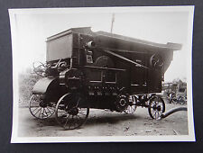 Photo ancienne BRAUD moissonneuse batteuse tractor tracteur Traktor 1