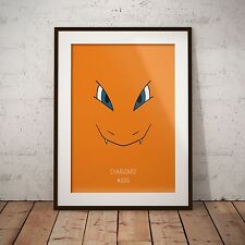 A4 Pokemon Go Charizard 006 Print Poster Gift Present Japanese Anime Game
