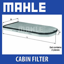 MAHLE carbone activé pollen filtre à air (filtre de Cabine) - lak613 / s (Lak 613 / s)