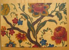 Antique 1930's  English Exotic Floral Wallpaper  (8970 )