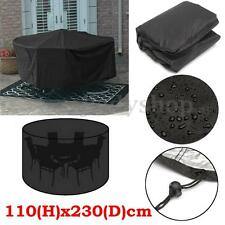 Outdoor Furniture Cover 6 Seater Patio Garden Table Chair Waterproof Shelter New