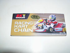 "#35 EK Racing Kart Chain, 40"" 106 Links Gold and Black, Go Kart, Mini Bike"