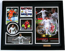New Gareth Bale Signed Real Madrid Limited Edition Memorabilia