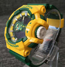 CASIO G SHOCK GA-400CS-9AER YELLOW&GREEN LIMITED XLARGE ANALOG&DIGITAL BRAND NEW
