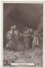 The Kiss of Judas, Religion Art Postcard, B522