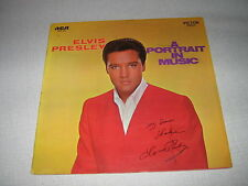 ELVIS PRESLEY 33 TOURS GERMANY A PORTRAIT IN MUSIC