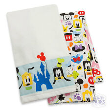 Disney Parks Mickey Mouse and Friends Colorful Kitchen Towel Set Color