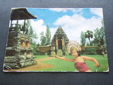 THE NOTED TAMAN AJUN AND A GRACEFUL DJANGER DANCER BALI - POSTCARD