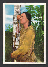 Charlton Heston Sioux Indian The Savage 1960s Movie Film Card from Germany #48