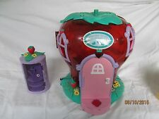 STRAWBERRY SHORTCAKE 2003 DOLL HOUSE BANDAI #50903 PRESS BUTTON & DOORBELL RINGS