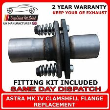 Vauxhall Astra and Zafira Replacement Repair Flange Kit For Exhaust Back Box