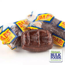 4 lb Washburn Dad's Root Beer Barrels Old Fashioned Hard Candy BULK Wrapped