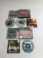 Metal Gear Solid & Special Missions PS1 PS2 PlayStation MGS Bundle