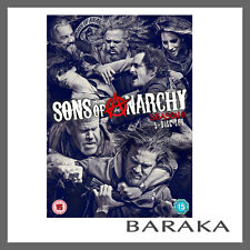 SONS OF ANARCHY COMPLETE SEASON SERIES 6 DVD box set R4 Six Sixth New Sealed