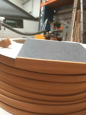 15MM T TRIM BEECH TABLE TRIM 10 METRE  FURNITURE KNOCK ON EDGING VW CAMPERVAN