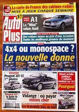 AUTO PLUS du 12/12/2006; 4x4 ou Monospace/ Audi A1/ Peugeot 407/ Mini Cooper