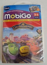 Vtech MobiGo Chuggington Cartridge Touch Learning System Problem Solving Memory