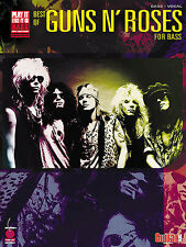 Play It Like It Is Bass Best Of Guns N' Roses Learn Rock Guitar Tab Music Book