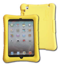 Kid Friendly Protective Silicone Shell Case for iPad mini (Yellow)