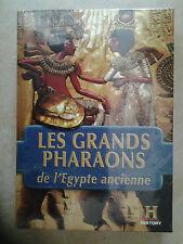 15007// LES GRANDS PHARAONS DE L'EGYPTE ANCIENNE COFFRET 4 DVD NEUF