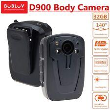 32G HD 1080P BOBLOV D900 Body Security Police Camera Night Vision Video H1