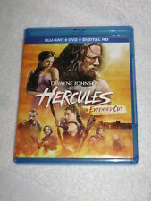 Movie Blu Ray HERCULES 1 DISC SET DWAYNE THE ROCK JOHNSON AWESOME ACTION BLU RAY