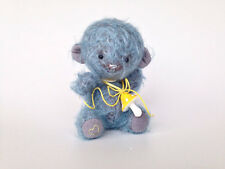 OOAK Mohair artist teddy bear Handmade Art doll Kids toys Stuffed Soft Plush
