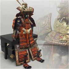 Japanese YOROI Armor & KABUTO Helmet Full Set Box SAMURAI Boy's day Traditional
