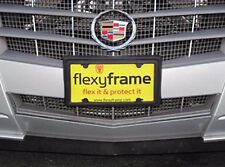 A NASA-like Rubber License Plate Bracket Frame Holder Guard Bumper for CADILLAC