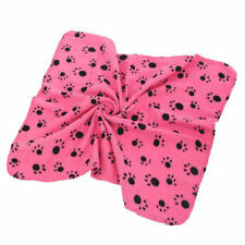 Soft Pet Blanket Mat Dog Puppy Bed Cushion Kennel Cover Warm Big Size Paw 4Color