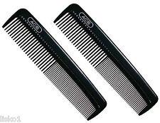 """Ace 61586 Hard Plastic 5"""" barber pocket comb 2-combs"""