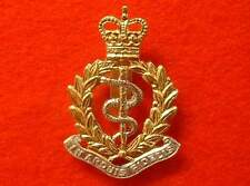 Quality Anodized Royal Army Medical Corps Cap Badge QC RAMC Beret Badge