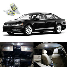 15 x Xenon White LED Interior Light Package For Volkswagen VW Passat 2012 - 2015