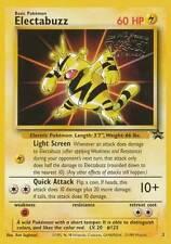 Electabuzz Pokemon Card 2 - Pokemon: The First Movie Promo 1999