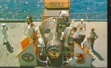 GEMINI 4 SPACECRAFT-ON THE DECK OF CARRIER- WASP--(SPACE-62*)