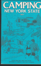 Camping in New York State 1977 Booklet State Commerce Department