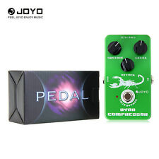 JOYO JF-10 Dynamic compressor Guitar AMP Effect Pedal with True Bypass