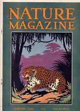 1929 Nature February-Giant Tree Frogs; Puget Sound; Leopard; American Eider duck