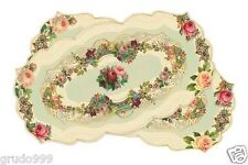 MICHAL NEGRIN BEAUTIFUL SPECIAL WASHABLE 2 TABLE RUNNERS  TOP QUALITY VINTAGE