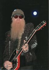 "Billy Gibbons ""zz top"" autographe signed 20x30 cm IMAGE"