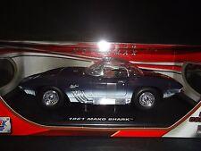 Motor Max Chevrolet Corvette Mako Shark 1961 Blue 1/18