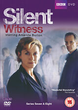 SILENT WITNESS - SERIES SEVEN AND EIGHT - DVD - REGION 2 UK
