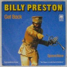 Interprètes Beatles 45 tours Billy Preston Get Back 1978