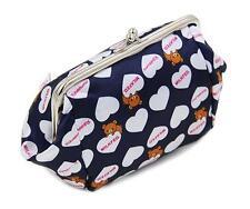 Super Cute Rilakkuma San-X Bear PU Make up Bag/Cosmatic Bag Holder Handbag
