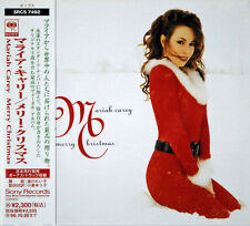MARIAH CAREY - MERRY CHRISTMAS - JAPAN CD SRCS 7492 - 11 track NEW MINT