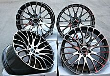 "20"" CRUIZE 170 ALLOY WHEELS BLACK POLISHED STAGGERED CONCAVE 20 INCH ALLOYS"