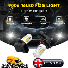 2x 16 SMD HB4 9006 PROECTOR FOG LIGHT LED BULBS CANBUS FOR BMW MERCEDES GOLF