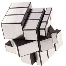 3x3x3 Straight Drawing Mirror Magic Rubik Puzzle World Twist Game Magic Cube Toy