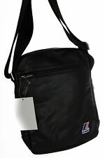 Borsa tracolla bag K-WAY a.3BKK4603 MEDIUM AMMO 26x20x5 col.A2 NERO BLACK