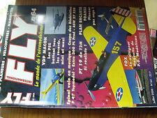 µ?a  Revue FLY n°64  plan encarté Pin's baron de poche / ASW 27 FOX Spirit